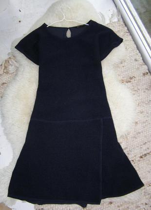 Massimo dutti платье теплое  букле s- m-размер.оригинал
