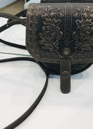Шкіряна сумка лимар