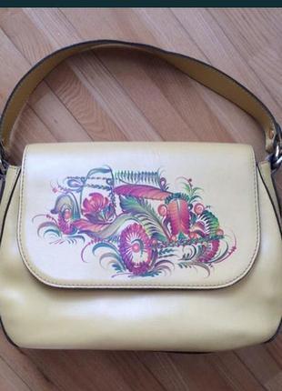 Женская кожаная сумка vif