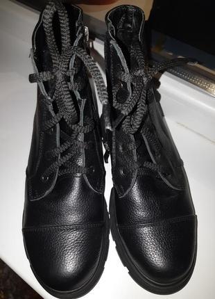 Ботиночки женские кожа