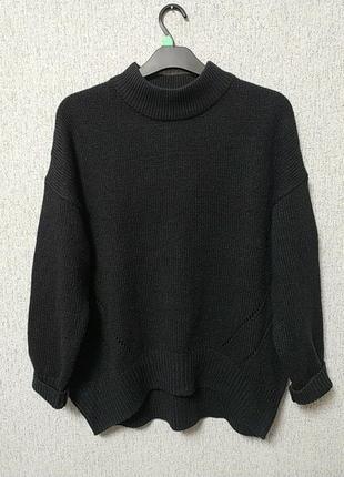 Трендовий базовий светр батал