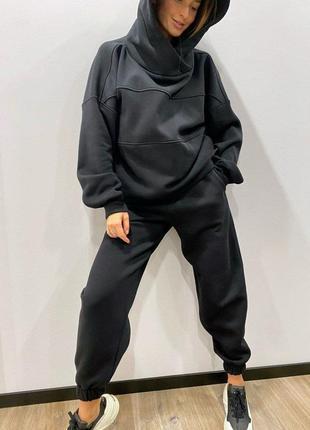 Женский спортивный костюм ( черный)