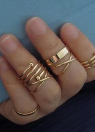 Кольца на фаланги пальцев new 2017