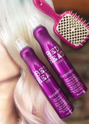 Спрей для дополнительного объема волос tigi queen for a day thickening spray 311 мл