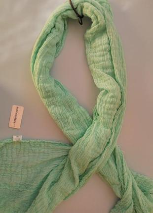 Теплый шарф, жатка