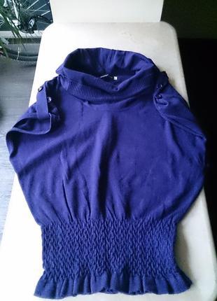 Туника кофточка фиолетовая