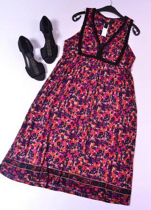 Цветочный сарафан mng collection