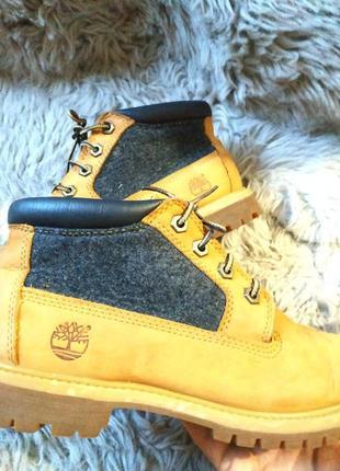 Классные ботинки timberland