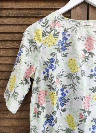 Красивая блуза в цветочный принт papaya, футболка, топ, кофточка