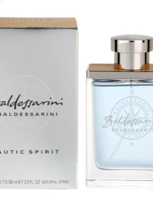 Baldessarini nautic spirit  мужская туалетная вода парфюм спрей одеколон