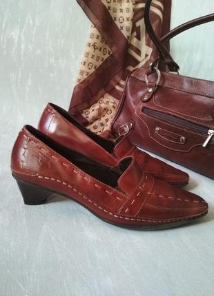 Туфли pikolinos, кожа, оригинал, испания, ручная работа