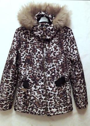 Тёплая куртка, пуховик, 44-46?, h&m3 фото
