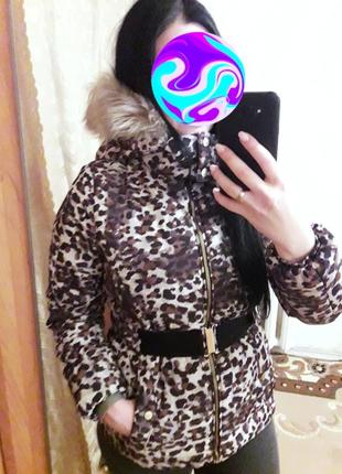 Тёплая куртка, пуховик, 44-46?, h&m8 фото