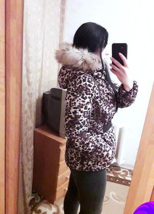 Тёплая куртка, пуховик, 44-46?, h&m9 фото