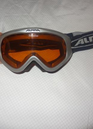 Лыжные очки alpina