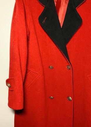 Винтажное пальто шерсть и кашемир