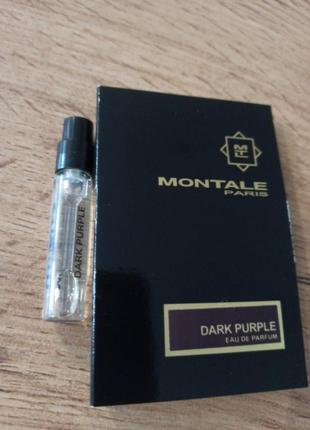 Montale dark purple парфюмированная вода пробник оригинал