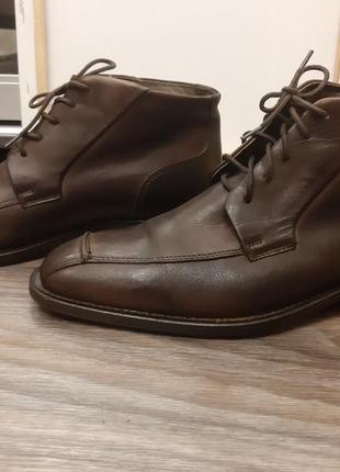 Ботинки, туфли мужские gapristtano, кожа, размер 40, стелька 27-27,5см.