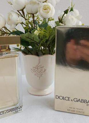 Dolce and gabbana the one туалетная вода спрей женская