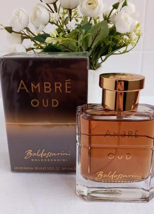 Baldessarini ambre oud мужской одеколон парфюм