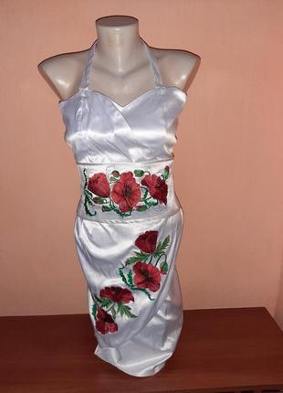 Вишита сукня плаття