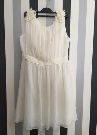 Красивейшее вечернее выпускное платье от asos little mistress l