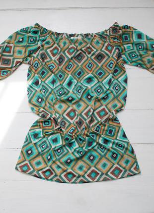Оригінальна туніка-плаття