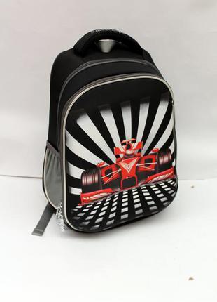 Рюкзак, рюкзак для школы, ранец, ортопедический рюкзак, машина, рюкзак для мальчика