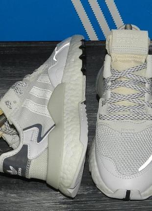 Adidas nite jogger оригинальные, кожаные, стильные невероятно крутые кроссовки