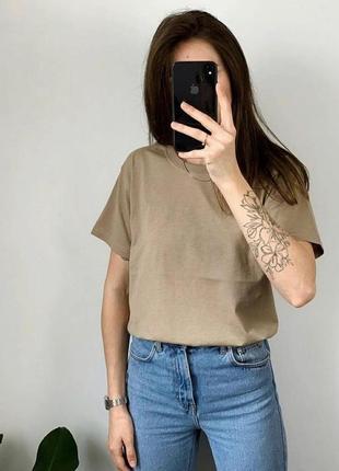 Базовая футболка oversize 100% хлопок