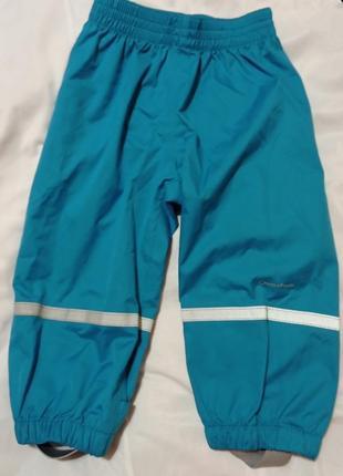 Грязепруф, непромокаемые штаны, дождевик для малыша 1.5-2 года quechua