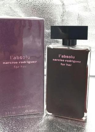 Narciso rodriguez l'absolu for her  женский парфюм