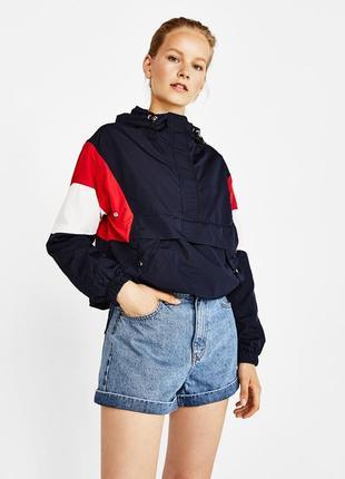Анорак/ветровка/куртка в стиле худи