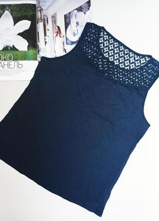 Майка-блуза esmara с ажурным верхом