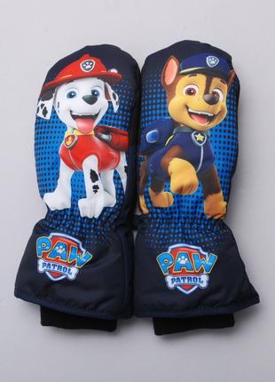 Краги рукавицы для мальчика paw patrol h&m, размер 8-10 лет