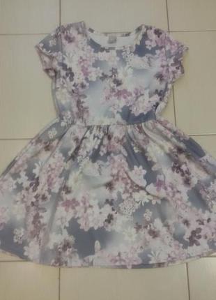 Платье в нежный цветочек от  tu