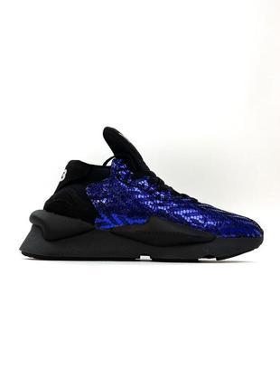 Женские кроссовки adidas yohji yamamoto y-3 kaiwa black