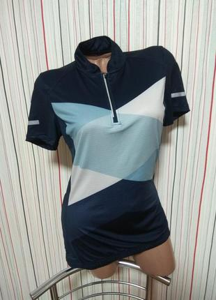 Вело футболка crivit,велосипедная джерси/джерсі,велоодежда