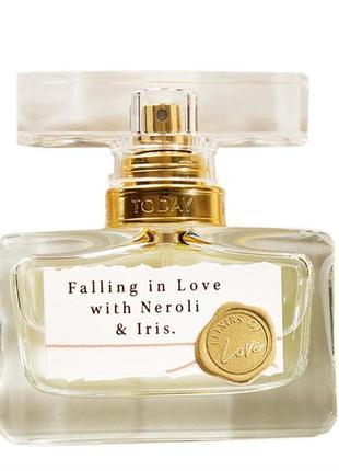 Розпродаж!!! парфумна вода avon эйвон ейвон falling in love neroli & iris 30 мл
