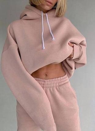 Sale sale -20% теплый женский спортивный костюм winter трехнитка флис 5 цветов