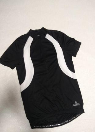 Вело футболка crivit,велосипедная джерси/джерсі,велосипедка