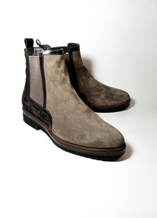 Maripé |made in italy| женские демисезонные туфли| ботинки челси| весна 39