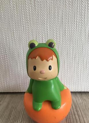 Игрушка неваляшка лягушка smoby