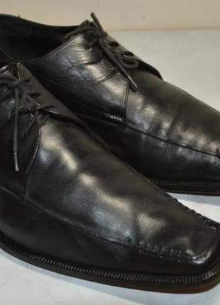 Кожаные брендовые туфли 44 р. читаем описание! смотрим фото!