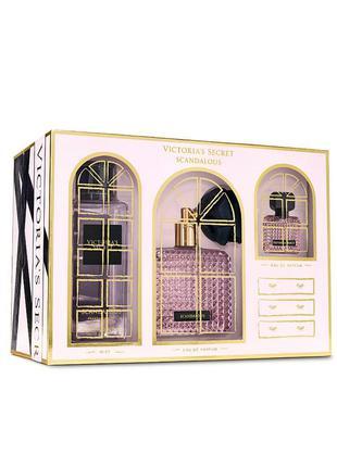 Подарочный набор парфюмерии scandalous от victoria's secret