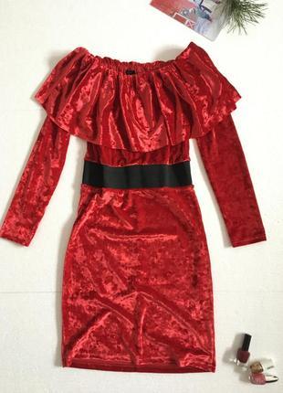 Тренд сезона. вечернее платье размер s-m с баской и открытыми плечами van gils
