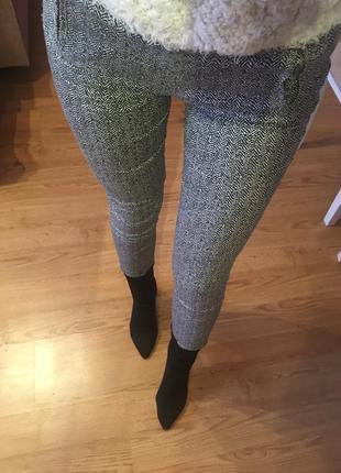 Скинни брюки с принтом gloria jeans