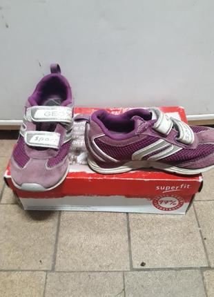 Замшевые кроссовки для девочки 26 размер