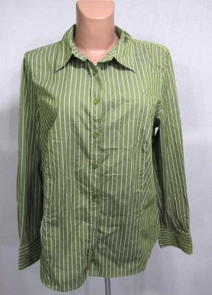 Рубашка lerros, 44, как новая!