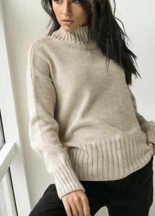 Акція ❤️ свитер теплый с горлом❤️3 фото